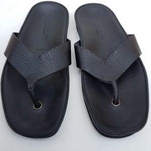 Adam Derrick unisex leather sandals